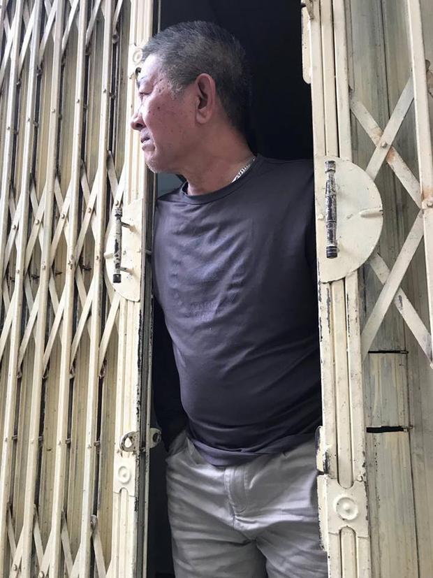 Ông Việt xác nhận thông tin cháu nội bị con trai bạo hành gây thương tích.