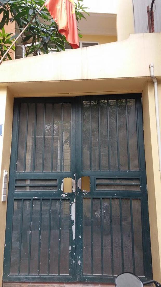 Ngôi nhà nơi cháu Kh. ở trọ cùng với bố và mẹ kế.