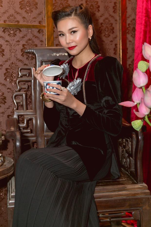Tạo hình cô Ba Trân của Thanh Hằng trong phim Mẹ Chồng.
