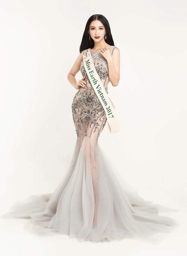 Khuôn mặt sắc sảo cùng thần thái gợi cảm, nếu so với nét dịu dàng, nữ tính của Diệp Bảo Ngọc thì top 16 Hoa hậu Trái Đất năm nay có phần vượt trội hơn hẳn.