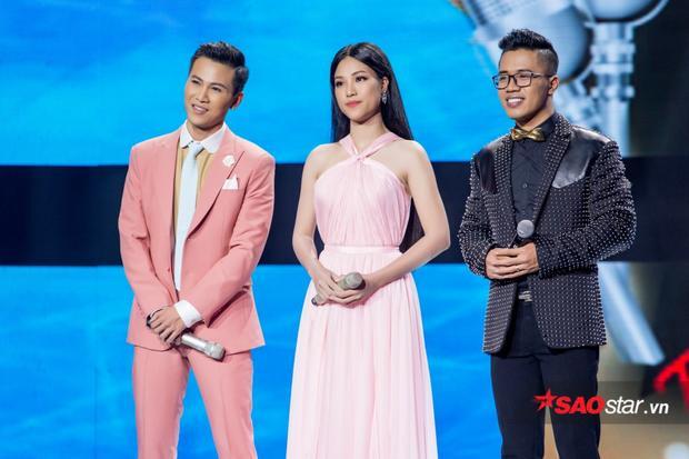 Kết thúc đêm thi, Mai Tiến Dũng - Hoàng Oanh để lại ấn tượng tốt nơi người hâm mộ.