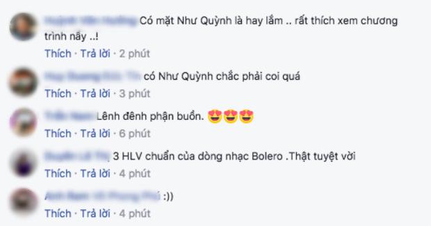 Sự có mặt của ca sĩ Như Quỳnh khiến các fan vô cùng thích thú.