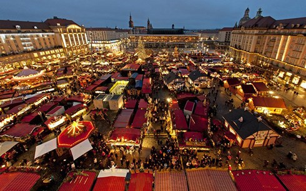 Một trong những khu chợ Giáng sinh ở Đức.