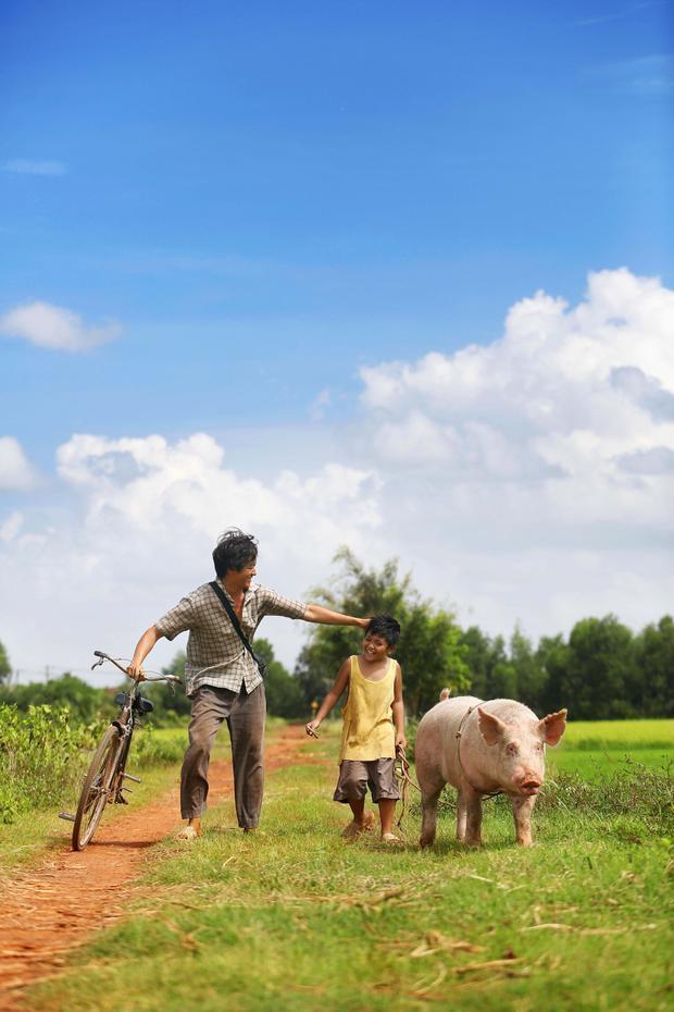 Khi con là nhà: Đi đâu cũng được, làm gì cũng được, có ba có con là hạnh phúc nhất rồi