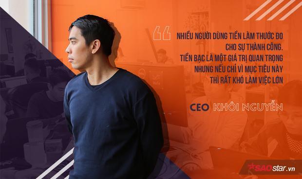 Khôi Nguyễn (sinh năm 1991, Hà Nam) là Founder & CEO của một công ty lĩnh vực sức khỏe.