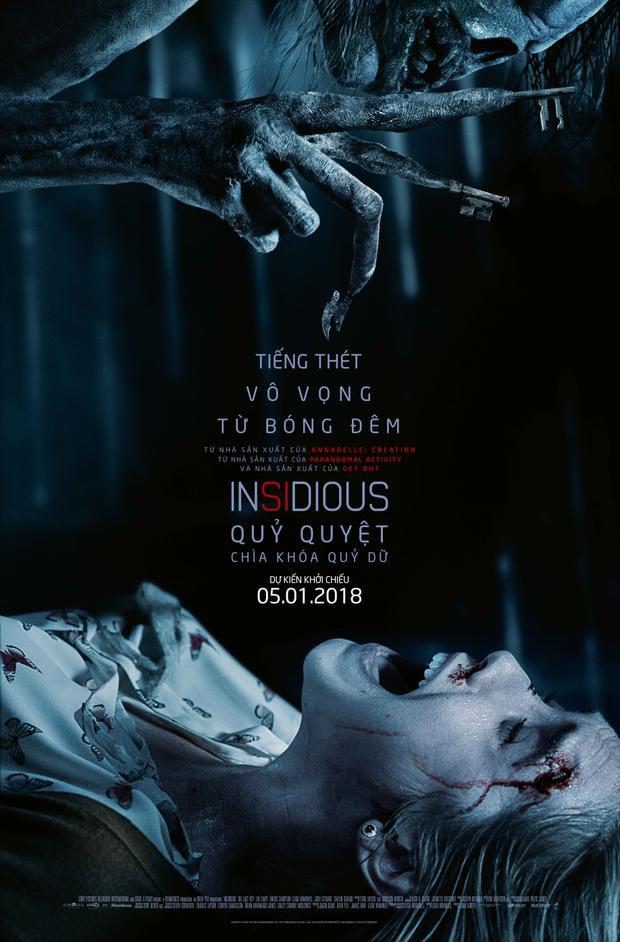 Insidious: Bà đồng Elise và những cột mốc đáng sợ trong hành trình trừ tà diệt ma
