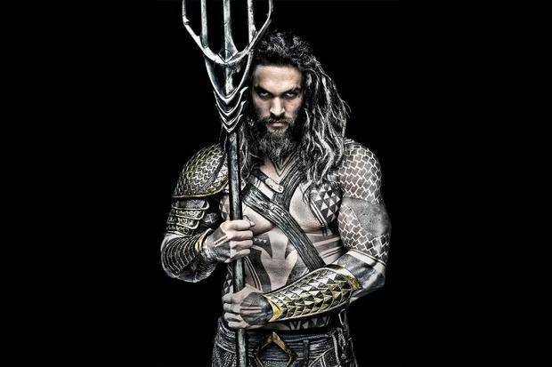 Jason Momoa lực lưỡng trong tạo hình của Aquaman