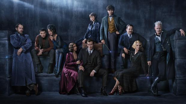 Fantastic Beasts: The Crimes of Grindelwald với đội hình đầy đủ các nhân vật