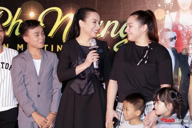 Wendy gửi lời cảm ơn báo chí và khán giả ủng hộ mẹ Phi Nhung trong suốt thời gian qua.