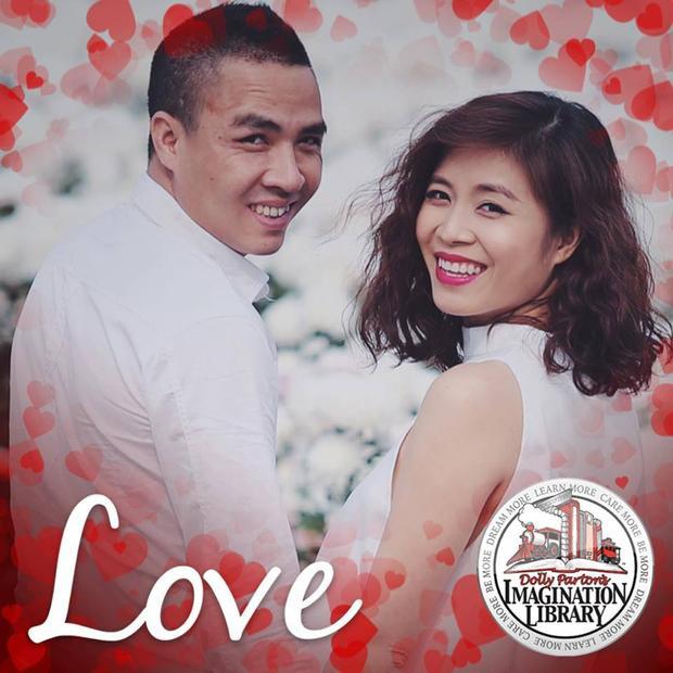 Hình cưới lãng mạn của MC Hoàng Linh và chồng sắp cưới.