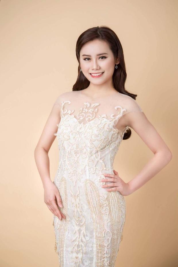 """Lê Thị Thu Trang làm """"Hoa hậu giả định""""."""