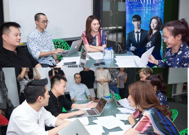 Hình ảnh về Ninh Dương Lan Ngọc trong buổi castingVì sao đưa anh tới phiên bản Việt được đạo diễn phim chia sẻ trên trang facebook cá nhân của mình.