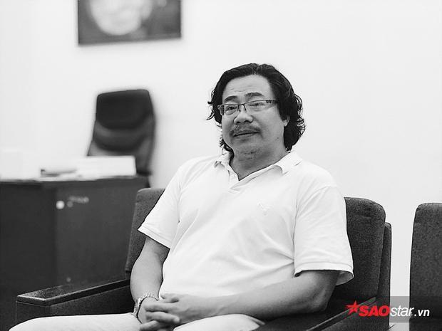 Nhà báo Công Vinh - Phó ban tổ chức festival 20 năm Làn sóng xanh.