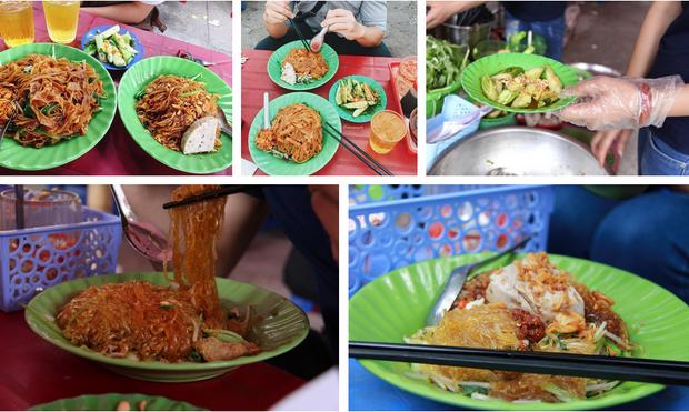 Món ăn vặt lúc chiều muộn khiến nhiều người thích thú.