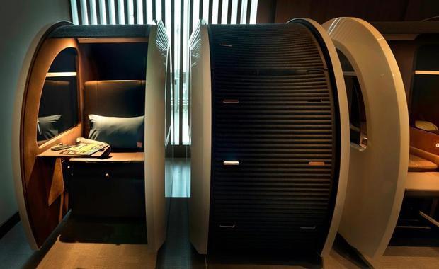Phòng ngủ mini cực kì hiện đại ở sân bay Dubai