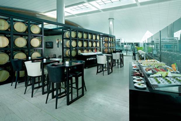 Nhà khách sân bay hạng thượng gia Ahlan tại Dubai International