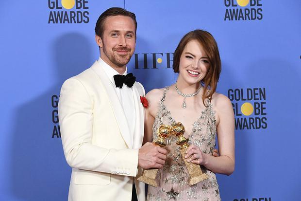 Phim nhạc kịch Lala Land với sự góp mặt của hai diễn viên Ryan Gosling, Emma Stone đã giành được 7 giải quan trọng ở Lễ trao giải Quả Cầu Vàng lần thứ 74.
