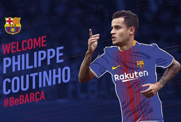 Hình ảnh đăng tải trên trang của của Barca.