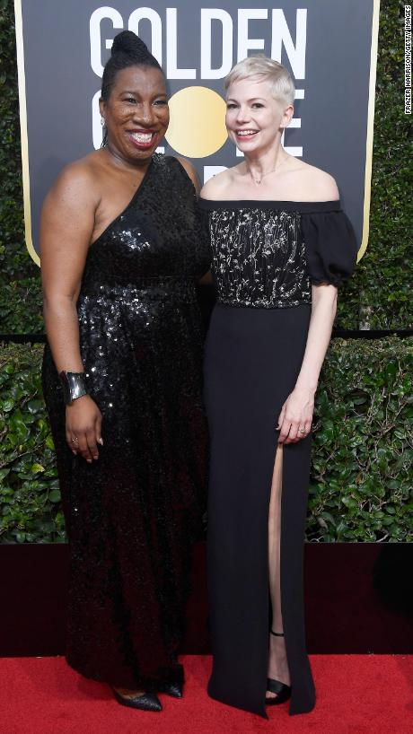 Tarana Burke - Michelle Williams.