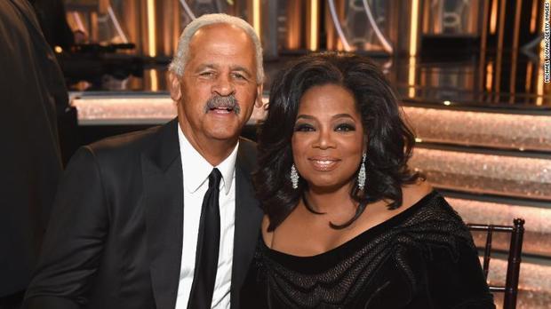 Stedman Graham và Oprah Winfrey