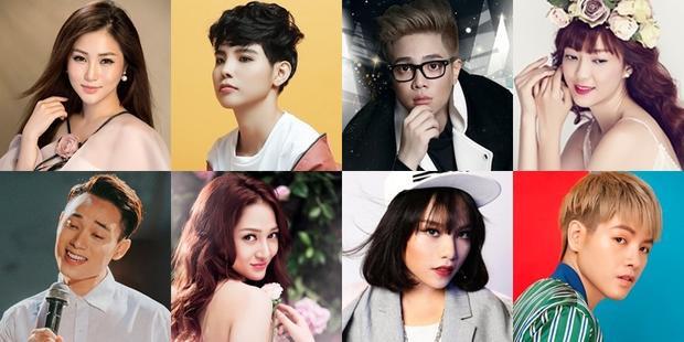 Những ngôi sao V-Pop bước ra từ Giọng hát Việt.