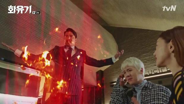 Woo Ma Wang vô cùng tức giận khi biết Oh Kong đã thoát khỏi thế giới trong tranh.