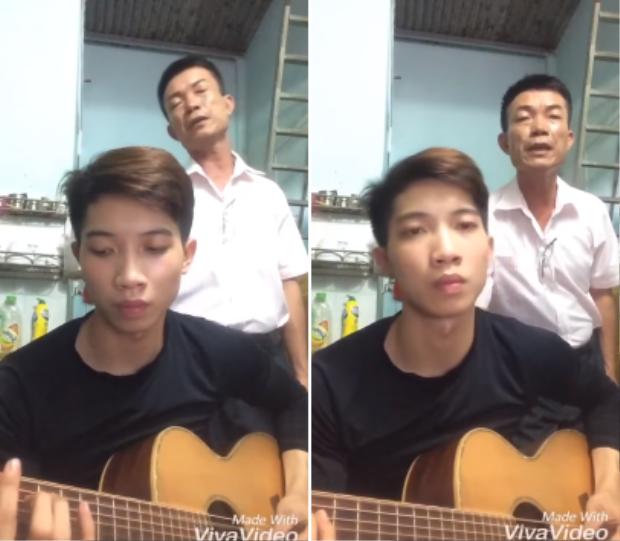 Bố và con trai song kiếm hợp bích hát mashup Xin  Buồn của anh  Người lạ ơi