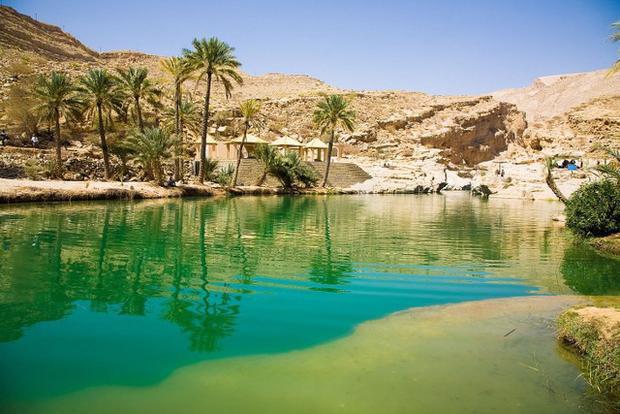 Những ốc đảo trên sa mạc đẹp nhất thế giới