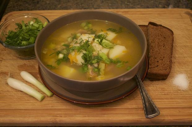 Món súp Rassolnik truyền thống thơm ngon và nhiều năng lượng của người Nga. (Ảnh: Internet).