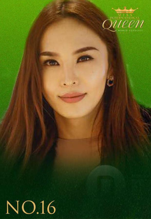 Vẻ đẹp khả ái giống như những ngôi sao màn ảnh Hàn Quốc của đại diện đến từ Mông Cổ.