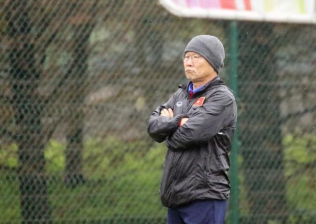 Trận thua đáng khen của thầy trò HLV Park Hang-seo.