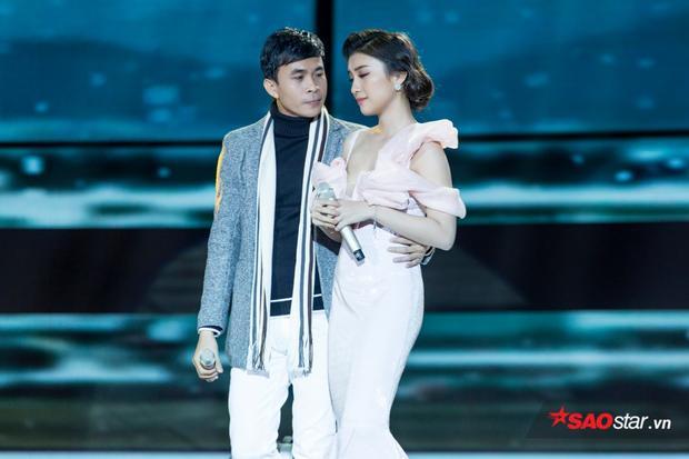 Tiết mục Tình bơ vơ giúp Tiêu Châu Như Quỳnh - Trường Sơn giành giải nhất tuần.