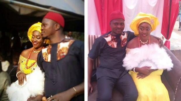 Đám cưới của họ diễn ra chỉ sau 6 ngày nói chuyện trên Facebook và 4 ngày gặp gỡ nhau.