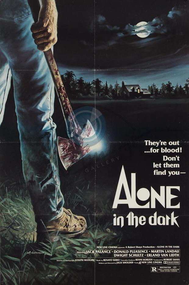 Alone in the Dark (1982) là tác phẩm kinh điển đỉnh cao về sự điên cuồng đến kinh hoàng của con người
