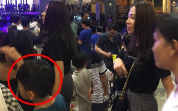 Chân dài gốc Lạng Sơn và Subeo cùng đi chơi Trung thu tại một trung tâm thương mại.