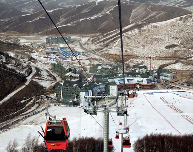 Với 200 tuyến đường trượt tuyết có tổng chiều dài 138 km, khu trượt tuyết Thaiwoo là một trong những địa điểm chính diễn ra Thế vận hội mùa đông Bắc Kinh năm 2022.