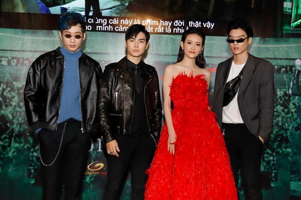 Bốn diễn viên chính của phim.