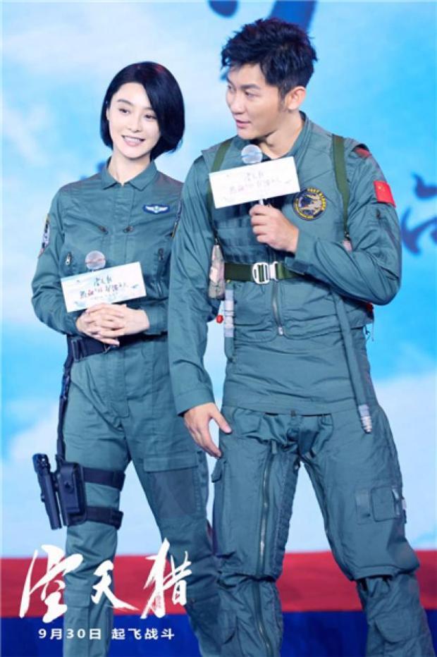 Trong suốt quá trình quảng bá, Phạm Băng Băng luôn sát cánh cùng bạn trai.