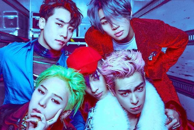 BigBang - nhóm nhạc nam Kpop hàng đầu thế giới.