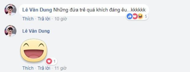 Nghệ sĩ Vân Dung hài hước bình luận về đàn em.