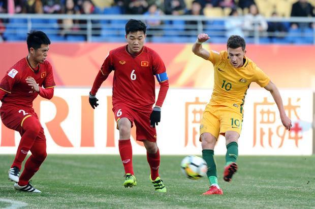 U23 Australia thua U23 Việt Nam vì có nhiều cầu thủ trẻ? Ảnh: AFC