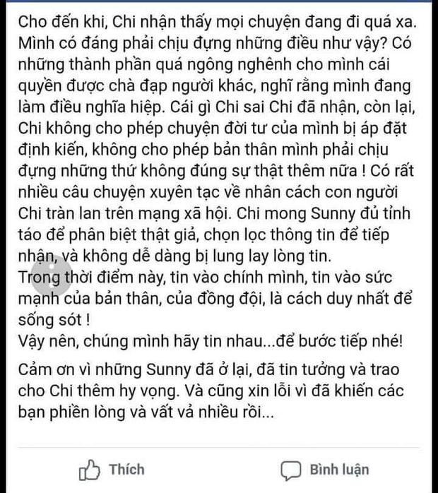 Hậu lùm xùm, Chi Pu viết tâm thư mong fan tỉnh táo trước những thông tin xuyên tạc nhân cách