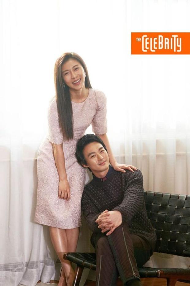 Hai chị em Ha Ji Won và Jeon Tae Soo.