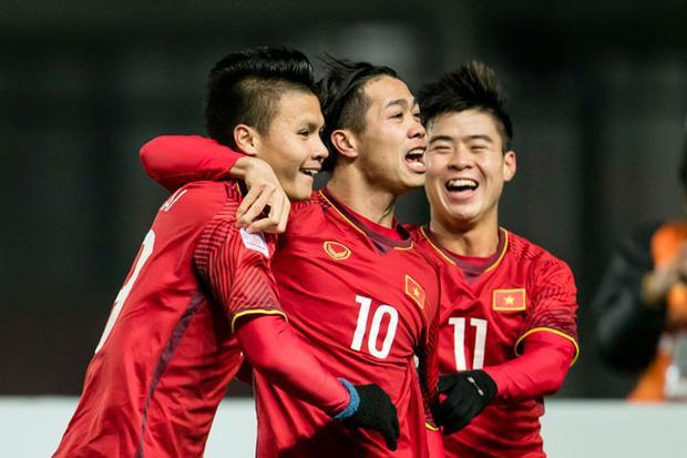 Các fan hâm mộ châu Á tin tưởng vào khả năng giành chiến thắng của U23 Việt Nam.