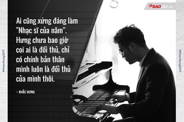 Khắc Hưng: Đâu chỉ riêng em là sáng tác ưng ý nhất trong năm qua