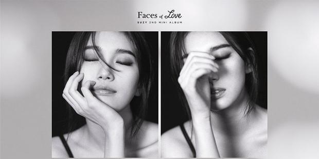 Hình ảnh Suzy trong album Faces Of Love.