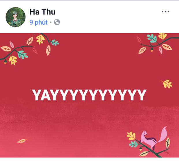 Á hậu Hà Thu.