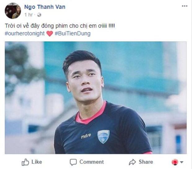 Lời mời của Ngô Thanh Vân.
