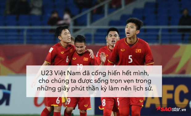 Hiên ngang tiến thẳng vào chung kết, tự hào quá U23 Việt Nam ơi!