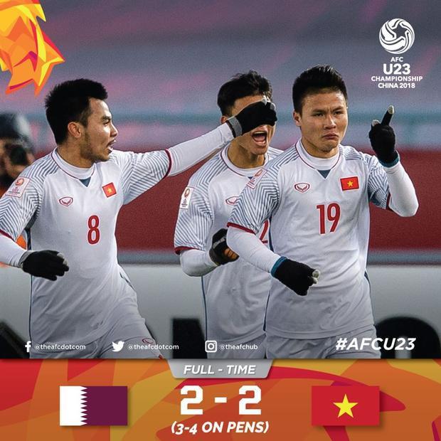 Việt Nam đã hiên ngàng giành tấm vé bước vào trận chung kết khi vượt qua đội tuyển Qatar.